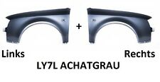 Audi A6 C5 Kotflügel LY7L ACHATGRAU NEU 97-01 Rechts+Links neu lackiert