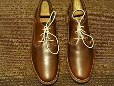 NEW STEVE MADDEN MEN OXFORDS US #11.5 M SOLID BROWN LEATHER MADE IN INDIA.