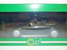 Cult Models Aston Martin V8 Zagato spyder 1987 metallic black  1/18th scale