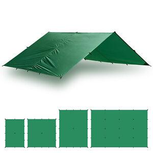 Aqua Quest Guide Tarp 10 x 10 ft Square Waterproof Tarp - Green