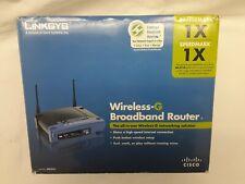 Cisco Linksys WRT54G Wireless G  Broadband Router WIFI