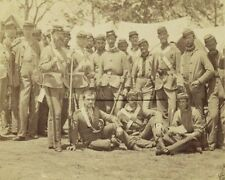 Federal 7th New York State Militia group portrait New 8x10 US Civil War Photo