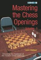 MASTERING THE CHESS OPENINGS vol.1, by Watson. NEW BOOK