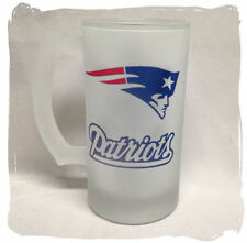 New England Patriots Frosted Beer Stein