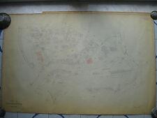 ROMA Mappa Catastale 460 STAZIONE TRASTEVERE GIANICOLENSE PORTUENSE MONTI  1943