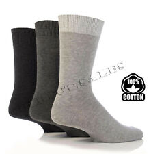 Mens Trainer Crew Socks Thin Soft 100% Cotton Classic Dress Socks UK 6-11 lot