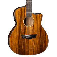 Dean Guitars Axe Koa 12-String Acoustic Electric Guitar