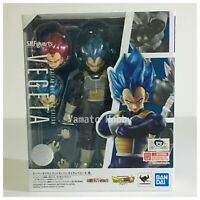 Dragon ball Z SSGSS Super Saiyan God Vegeta Action Figure S.H.Figuarts Unopened