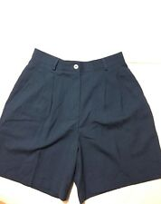 Women's Maggie Lawrence Blue Casual Shorts Size 8