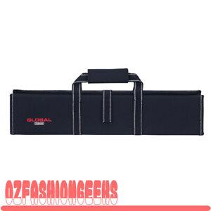 Global G-667/11 Knife Case with Handle Hard case 11 Pockets 79617 RRP$189.00 PI