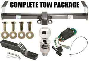 99-05 SUZUKI VITARA GRAND VITARA TRAILER HITCH + WIRING KIT + BALLMOUNT + BALL