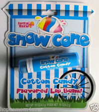 NIP SNOW CONE COTTON CANDY Flavored Lip Balm * Free First Class shipping