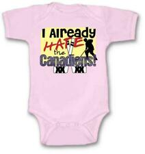 I Already Hate Canadiens Hockey Baby Bodysuit New Gift Choose Size & Color