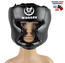 Boxing Headgear MMA Headgear, UFC Fighting Head Guard training Helmet by Sanjoin