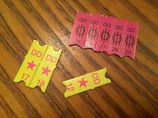 8 Cardboard Concert Tickets Barbie Rockers + Use in Monster High + Dollhouse