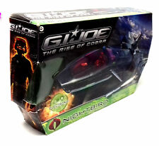 Action Force GI JOE NIGHT RAVEN Jet ship toy for 3.75 inch figures 100% comp