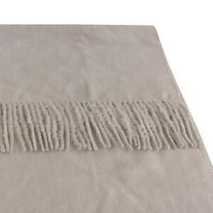 Organic Bamboo Throw Rug in Simply Taupe