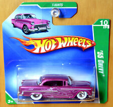 Hot Wheels SUPER T-Hunt '55 Chevy - New/Sealed/RARE Short Card