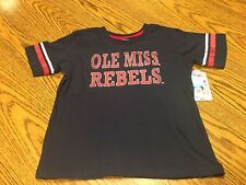 Ole Miss Rebels NCAA Toddler Colosseum Navy Short Sleeve T-Shirt Size 2T - NWT