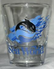 Sea World Shamu the Killer Whale Libbey shot glass