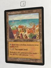 Mtg Magic the Gathering Mercadian Masques Rishadan Port