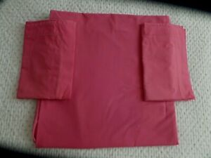 La Redoute Pink Double Duvet cover and pillowcases