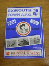 27/02/1990 Exmouth Town v Chard Town  . Thanks for viewing this item, buy in con