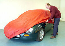 MGF Soft Indoor Breathable Car Cover Red Three layer Soft Lining