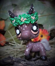 Littlest Pet Shop Forest Guardian Spirit Faun ooak custom figure LPS horse leave
