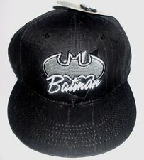 MENS BATMAN DC COMICS CAP SNAPBACK ADJUSTABLE HAT ONE SIZE