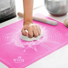 60x40cm Non Stick Silicone Baking Mat Sheet Cake Rolling Dough Pad Pastry Pink