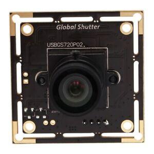 ELP USB2.0 Camera Board 720P Global Shutter 6mm lens Webcam with USB 60fps MJPEG