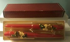 2 Vintage Avon Christmas Chimes Bayberry Candles New in Box