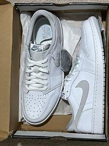 NEW Nike Air Jordan 1 Low OG Neutral Grey CZ0790-100 Size 12 Men Ready To Ship