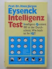 Intelligenz Test Hans Jürgen Eysenck Intelligenz Quotient IQ Weltbild Verlag