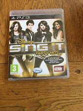 Sing It Party Hits (unsealed) - PS3 UK Release New!