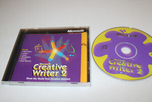 Microsoft Creative Writer 2 (PC 2001) Web Pages, Letters, Cards, Newsletters