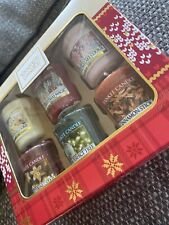 Yankee Candle Gift Set 6 Christmas Votive Candles