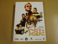 3-DISC DVD BOX / CSI: MIAMI - SEIZOEN 6 - AFLEVERING 6.1 - 6.11