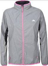 Trespass Womens Running Jacket Reflective Water Resistant & Windproof Coat XXS