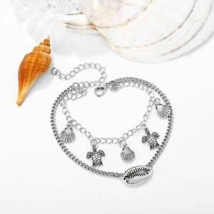 For Girls Foot Chain Shell Anklet Bohemian Creative For Women Tassel Bracelet CB