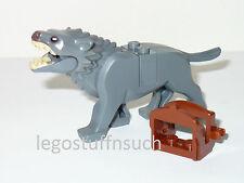 NEW LEGO® HOBBIT™ hunter GRAY warg dyre wolf dog creature monster figure 79002