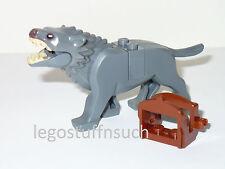 NEW LEGO® HOBBIT™ hunter GRAY warg dyre wolf dog creature monster figure 79002
