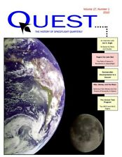 Quest History of Spaceflight magazine - 4 issues - Vol 17