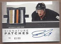 2012-13 Cup Signatures autographed hockey card Bobby Ryan, Ottawa Senators patch