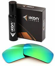 Polarized IKON Replacement Lenses For Arnette Rage 4025 Emerald Green Mirror