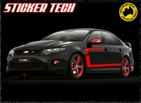 FG FPV GT R SPEC BOSS 335 SIDE STRIPES STICKER DECAL KIT SUITS FORD FALCON XR8