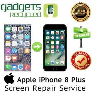iPhone 8 Plus Screen Replacement Repair Service -Same Day Repair & Return