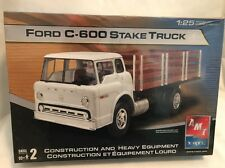 AMT Ertl Ford C-600 Stake Truck Model Kit! Semi! Tractor! SEALED/NEW! #123