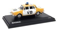 Abrex Metall Modellauto 1:43 Skoda 110 L Tschechische Polizei Kunststoff Vitrine